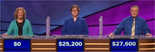 Final Jeopardy (5/15/2017) Gail Ansheles, Sara Holub, David Clemmons
