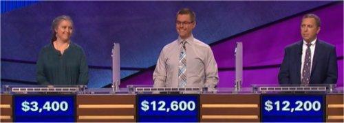Final Jeopardy (5/24/2017) Tanya Obreiter, Mackenzie Vogt, Matthew Cooper