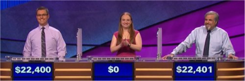 Final Jeopardy (5/25/2017) Mackenzie Vogt, Melanie Tannenbaum Hepler, Jon Groubert