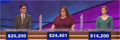 Final Jeopardy Results for Friday, May 27, 2016