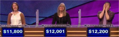 Final Jeopardy (5/31/2017) Kerry Benn, Lisette Pringle, Joe Nguyen
