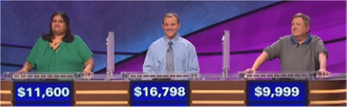 Final Jeopardy Results for Friday, May 6, 2016