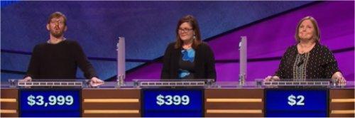 Final Jeopardy (6/12/2017) Tucker Dunn, Liz Kuster, Janna Seals