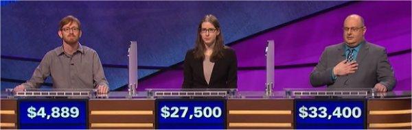 Final Jeopardy (6/14/2017) Tucker Dunn, Becca Arm, Phil Ricciardi