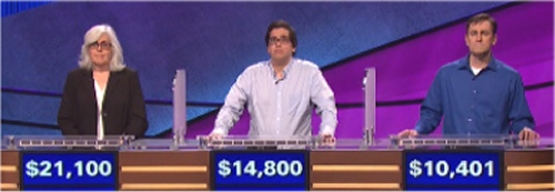 Final Jeopardy Results for Friday, June 17, 2016