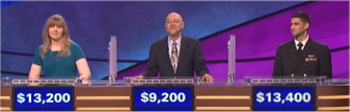 Final Jeopardy results for Monday, June 6, 2016
