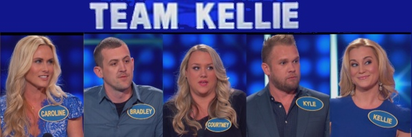 Kellie Pickler's team on Family Feud (6-26-2016)