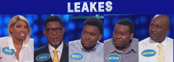 Nene Leakes and family on Family Feud (6-26-2016)