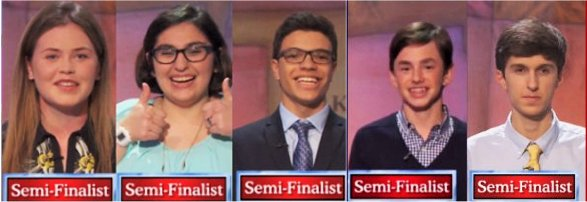 2016 Teen Tournament Semi-Finalists