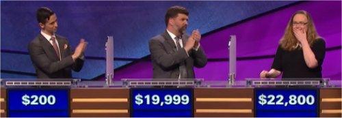 Final Jeopardy (7/11/2017) Rich Blashka, Scott Simpson, Kelly Lasiter