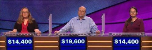 Final Jeopardy (7/12/2017) Kelly Lasiter, Gavin Bouchert, Sara-Jane Whitaker