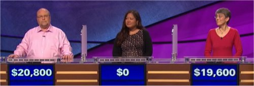 Final Jeopardy (7/14/2017) Gavin Borchert, Larissa Dizon, Vicky Smith