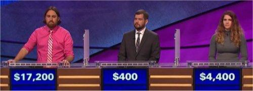 Final Jeopardy (7/26/2017) Justin Vossler, Seth Cope, Kellie Packwood