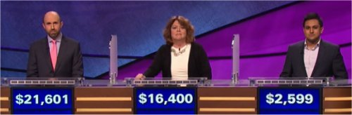 Final Jeopardy (7/6/2017) Jon Eisenman, Rishi Sangani, Liz Reardon