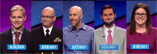 Jeopardy Champs: Week of 11-2-15
