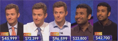 Jeopardy Champs: week of 5-18-15