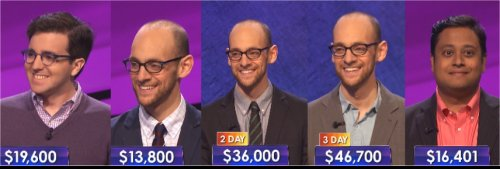 Jeopardy Champs: week of 6-22-15