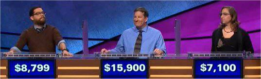 Final Jeopardy (2/14/2018) Frank Lang, Rob Worman, Erin Matherne