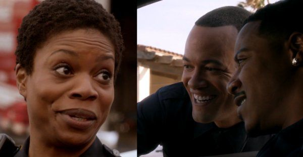 Kyra Locke an Japheth Gordon in Ray Donovan