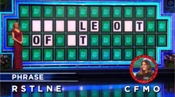 Alexandria Gallager on Wheel of Fortune (1-18-2018)