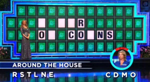 Crystal Knowles on Wheel of Fortune (1-19-2018)
