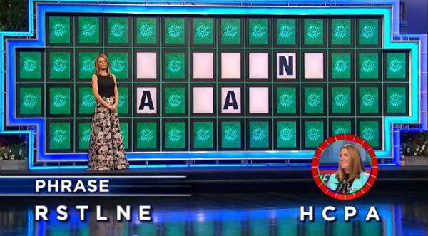 Keri Boyd on Wheel of Fortune (1-30-2018)