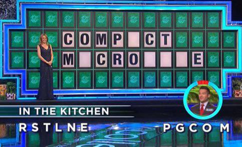 Blair Russell on Wheel of Fortune (10-20-2017)