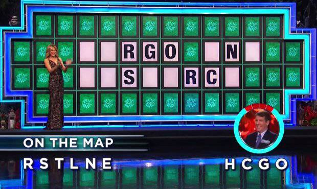 Jeremy Richburg on Wheel of Fortune (10-31-2017)