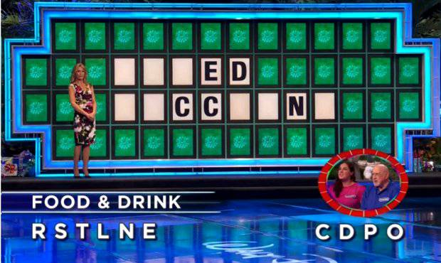 Laurel and Frank on Wheel of Fortune (11-15-2017)
