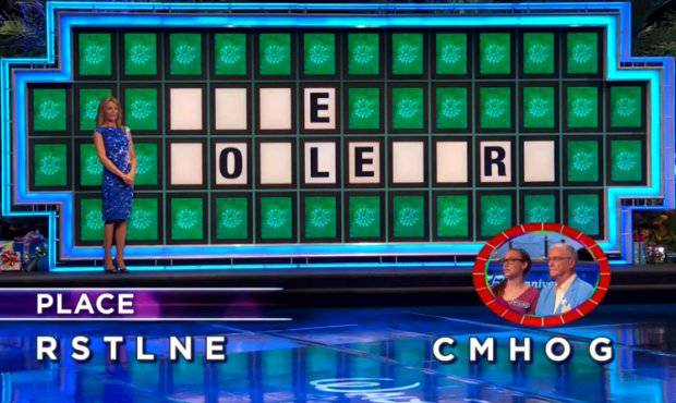 Mylena and Bruce on Wheel of Fortune (11-16-2017)