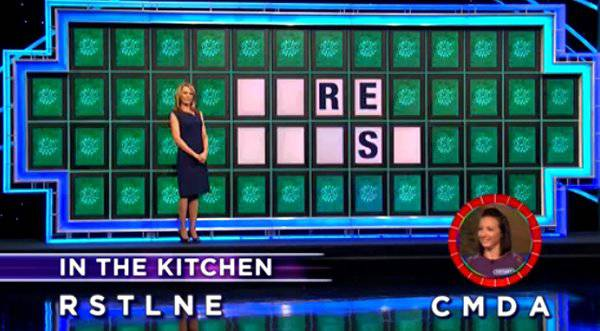 Tiffany Collins on Wheel of Fortune (11-22-2017)