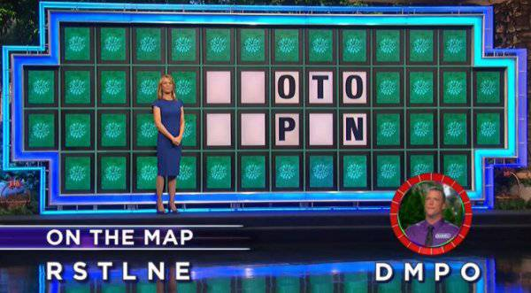Daniel Young on Wheel of Fortune (11-27-2017)