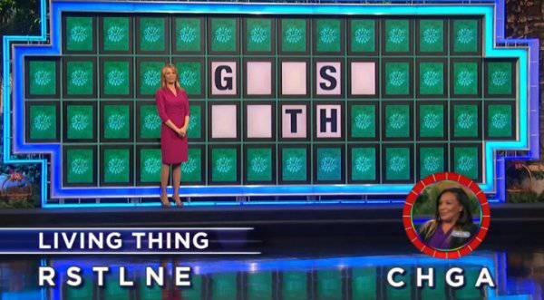 Chrystal Davis-Evans on Wheel of Fortune (11-29-2017)
