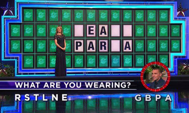 Eric Petry on Wheel of Fortune (11-7-2017)
