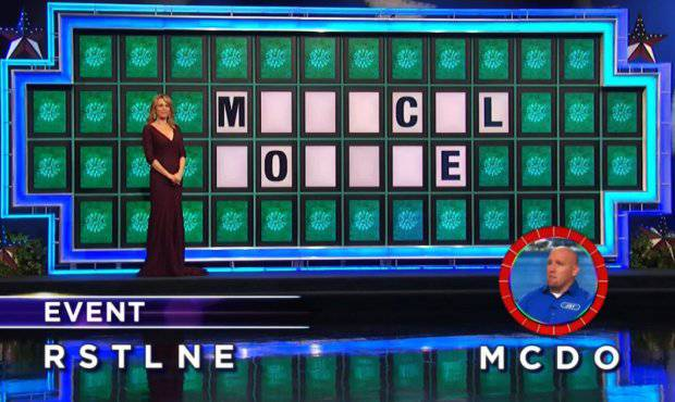 Jay Buoy on Wheel of Fortune (11-8-2017)