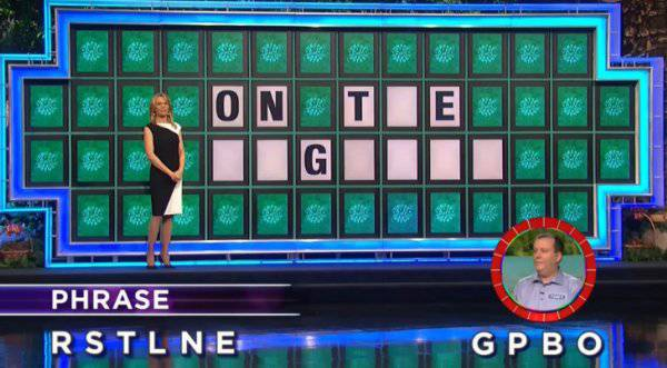 Tony Harrison on Wheel of Fortune (12-01-2017)