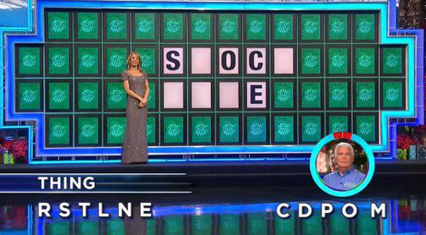 Kevin Johnson on Wheel of Fortune (12-22-2017)