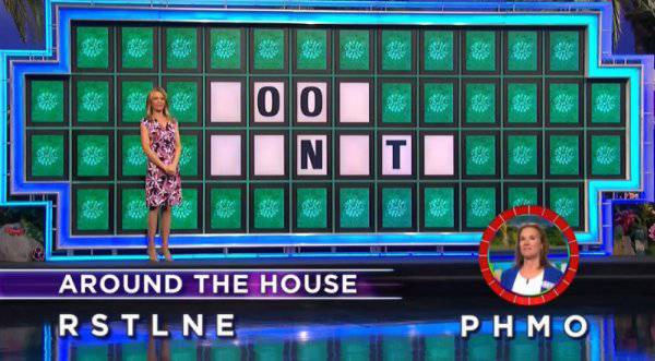 Betsy Harlan on Wheel of Fortune (12-28-2017)