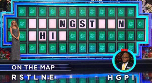 Anthony Williams on Wheel of Fortune (12-06-2017)