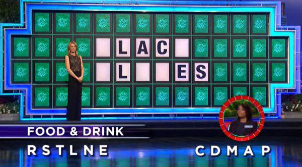 Anginette Browder on Wheel of Fortune (2-2-2018)