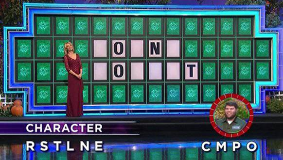 Jacob Hopgood on Wheel of Fortune (9-26-2017)