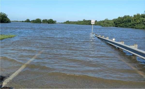 Westheimer Parkway underwater
