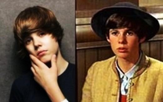 Justin Bieber looks like Kim Darby