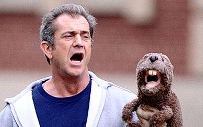 Mel and his beaver