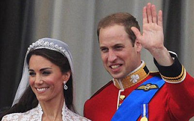 Royal Couple, Kate and William