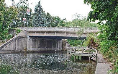 Union Street Bridge in Traverse City