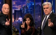 Snooki, Jay Leno and Howie Mandell