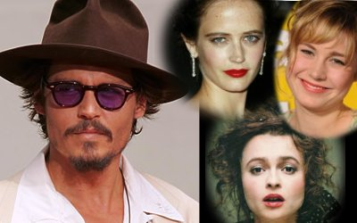 Johnny Depp and co-stars