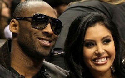 Kobe and Vanessa in happier times
