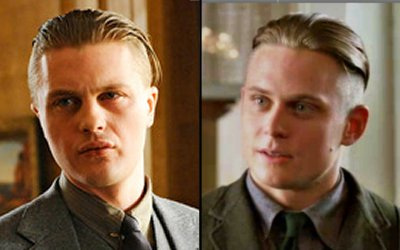 Jimmy Darmody and Roger McAllister